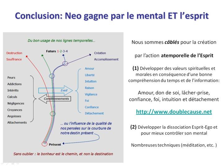 Une conférence sur la nature de la réalité  La synchronicité: un pont entre l'âme et la science Slide26
